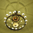 Stock Photo: Antique ceiling lighting