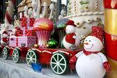 Large luxury Christmas decoration — Stock Photo
