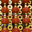 Red lanterns decorating the Chinese New Year — Stock Photo #18994183