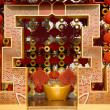 Red lanterns decorating the Chinese New Year — Stock Photo #18994737
