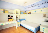 Kid bedroom — Stock Photo