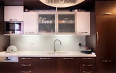 Cozinha moderna — Fotografia Stock