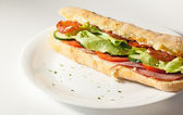 Salad sandwich — Stock Photo