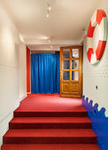 Kindergarten entrance — Stock Photo