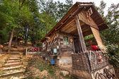 Wooden house — Zdjęcie stockowe