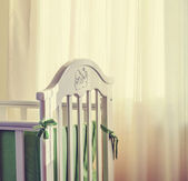 Bebek yatağı — Stok fotoğraf