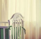婴儿床 — 图库照片