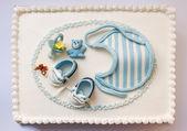 Pastel de cumpleaños de bebé — Foto de Stock