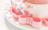Birthday Cake Decoration — Stock Photo