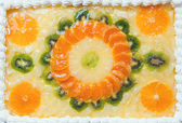 Torta fruttato — Foto Stock