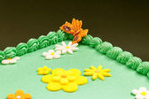 Green Field Cake  — Stockfoto