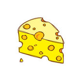 Cheese cartoon — Stock Vector