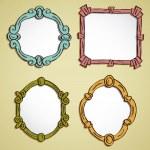 Vintage frame doodle — Stock Vector #12142832