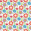 flower pattern — Stock Vector