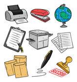 Office equipment — Stock Vector