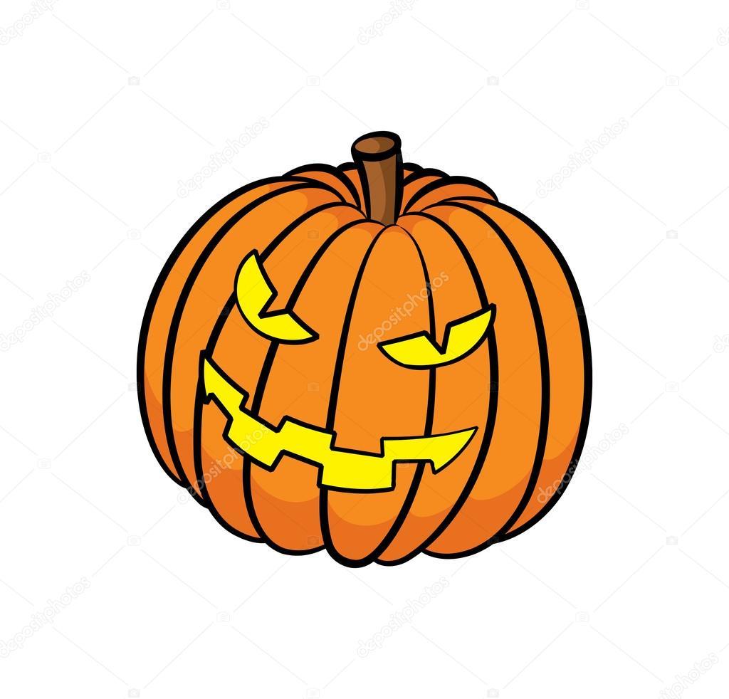 Halloween animado calabazas for Calabaza halloween dibujo