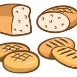 Various bread set — Stock Vector #13289670
