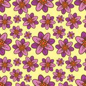 Beautiful flower pattern — Stock Vector