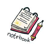 Notebook doodle — Stock Vector