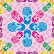 Russian Matryoshka doll seamless pattern — Stockvektor  #38222265