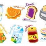 Set of breakfast icon — Stock Vector #38226461