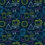 Mathematics seamless pattern — Stock Vector #38228559