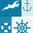Nautical illustration — Stock Vector #38228701