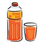 Orange juice — Stock Vector #38228713