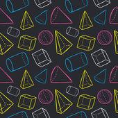 Geometric shape background — Vecteur