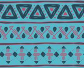 Traditional tribal motif — ストックベクタ