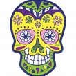 Stock Vector: Sugar skull