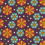 Retro flower background — Stock Vector
