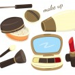 Make up kit icon — Stock Vector