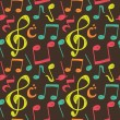 Music note background — Stock Vector #38685809