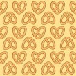 Pretzel background — Stock Vector #38685929