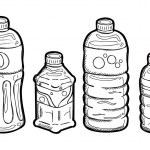Plastic bottle doodle — Stock Vector #38686013