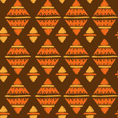 Patrón tribal — Vector de stock