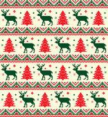 Pixel Christmas background — Stock Vector
