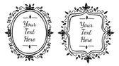 Sketchy frame doodle — Stok Vektör