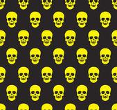 Skull background — Stock Vector