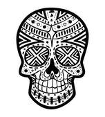 Sugar skull — Stock Vector