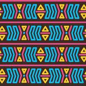 Padrão tribal abstrato — Vetorial Stock