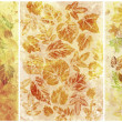 Abstract backgrounds, watercolor, leafs — Stock Photo