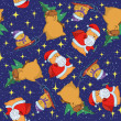 Christmas seamless background — Foto Stock
