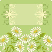 Flower holiday background — Stock Vector
