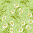 Seamless floral background — Zdjęcie stockowe