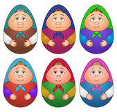 Dolls matreshka, set — Stock Photo
