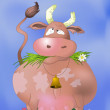 Thick cow — Stock Photo