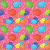 Seamless background, Easter eggs — Stock Vector