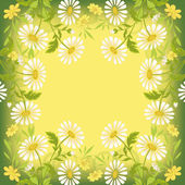 Flower holiday background — Vector de stock